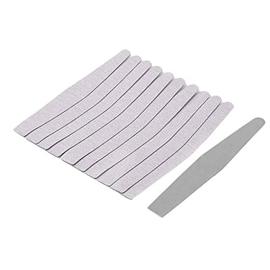 保持光の粒子ネイルケア ネイルファイル 爪やすり ネイルバッファー 爪磨き ネイル道具 全5選択 - 02