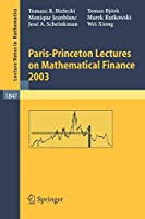 Paris-Princeton Lectures on Mathematical Finance 2003 (Lecture Notes in Mathematics)
