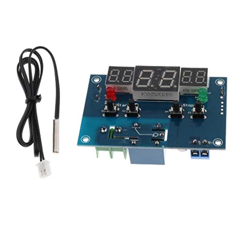 苦難軍艦ルビーB Baosity TS-HCM03 12V LEDデジタルディスプレイサーモスタット温度調節スイッチ