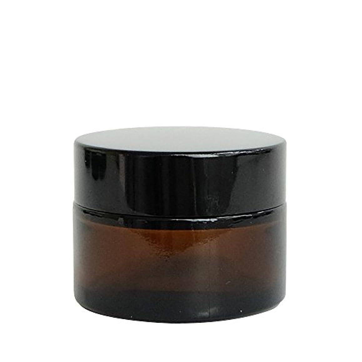 アサート鉛筆老人ease 遮光ジャー 茶色 30g用×10個