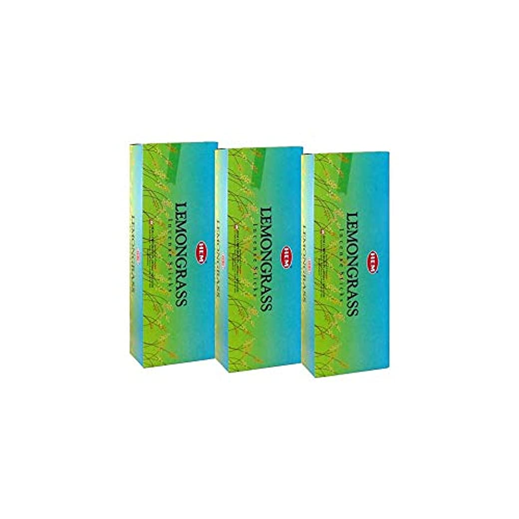 花に水をやる克服する崖Hemレモングラス香、3ボックス – (360 Sticksバルクper order)