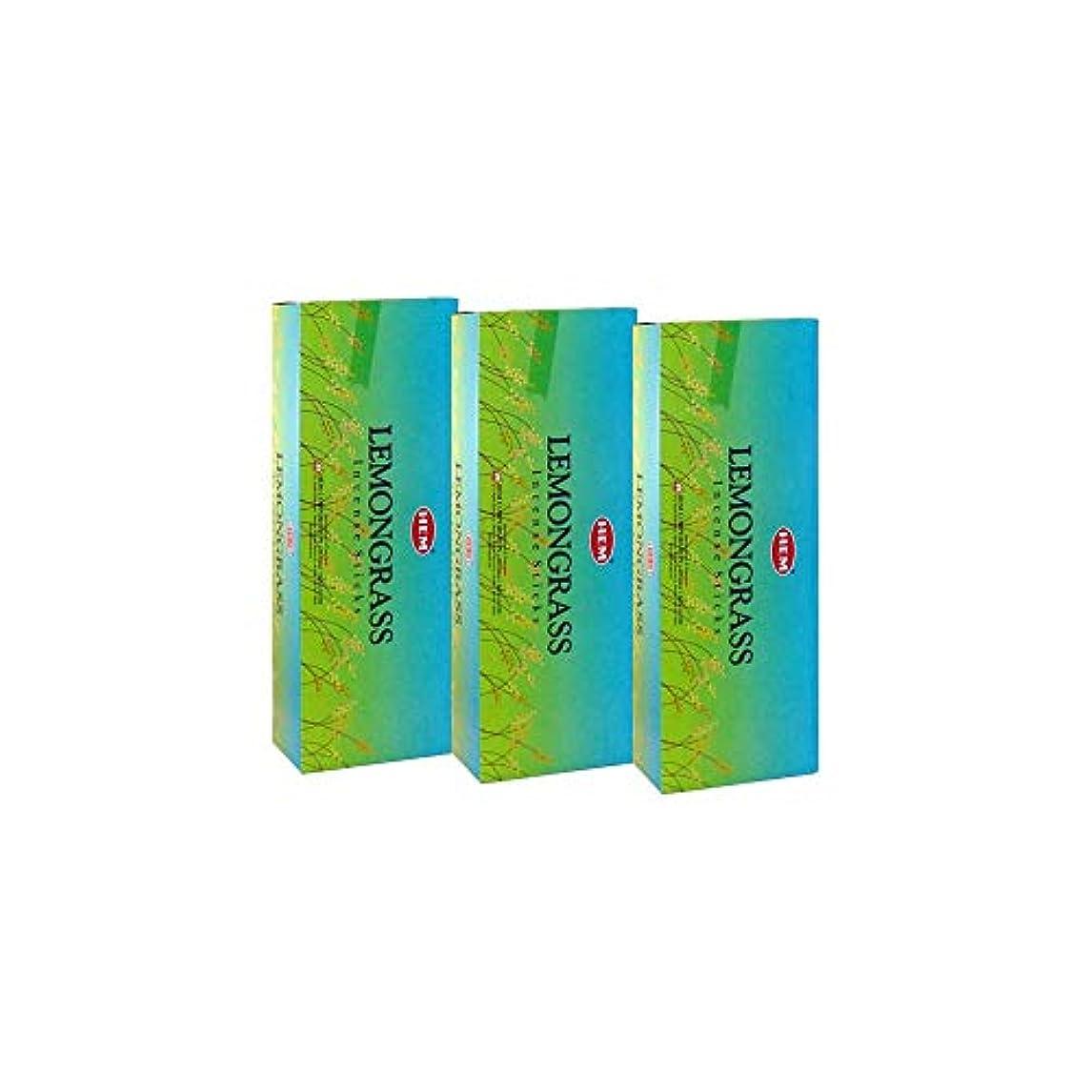 気候認知人間Hemレモングラス香、3ボックス – (360 Sticksバルクper order)