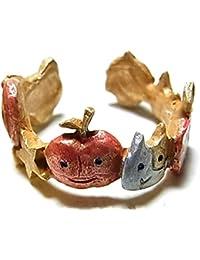 パルナートポック Palnart Poc 『 大団円 リング 』 林檎 リンゴ 猫 ネコ 指輪 アップル アニマル フルーツ かわいい 可愛い ユニーク おもしろ モチーフ プレゼント 誕生日 女性 20代 30代 palnartpoc