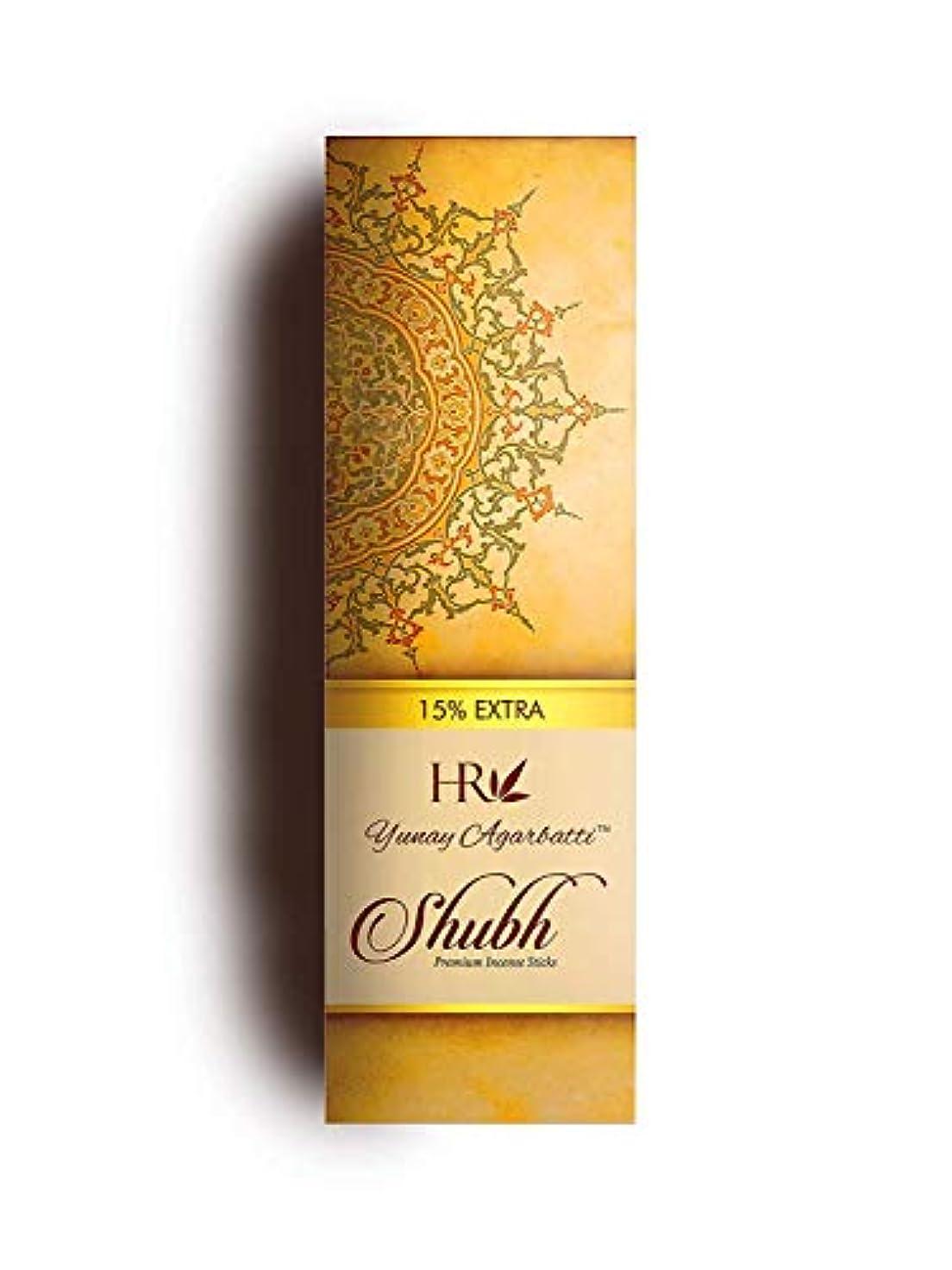 アナログ幸運ヘッドレスYunay Agarbatti Shubh (3 in 1) Incense Sticks 300gm + 45 gm Extra Free (Pack of 3)