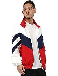 [アビト] ジャケット トラックジャケット ウインドブレーカー メンズ ホワイト XL サイズ