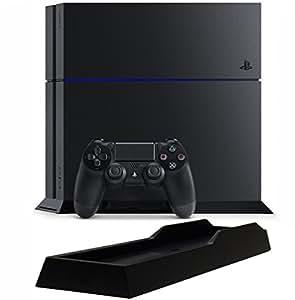 PlayStation 4 ジェット・ブラック (CUH-1200AB01) 【メーカー生産終了】【Amazon.co.jp限定】特典アンサー PS4用縦置きスタンド付