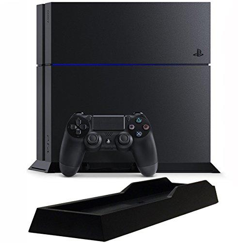 RoomClip商品情報 - PlayStation 4 ジェット・ブラック (CUH-1200AB01) 【メーカー生産終了】【Amazon.co.jp限定】特典アンサー PS4用縦置きスタンド付