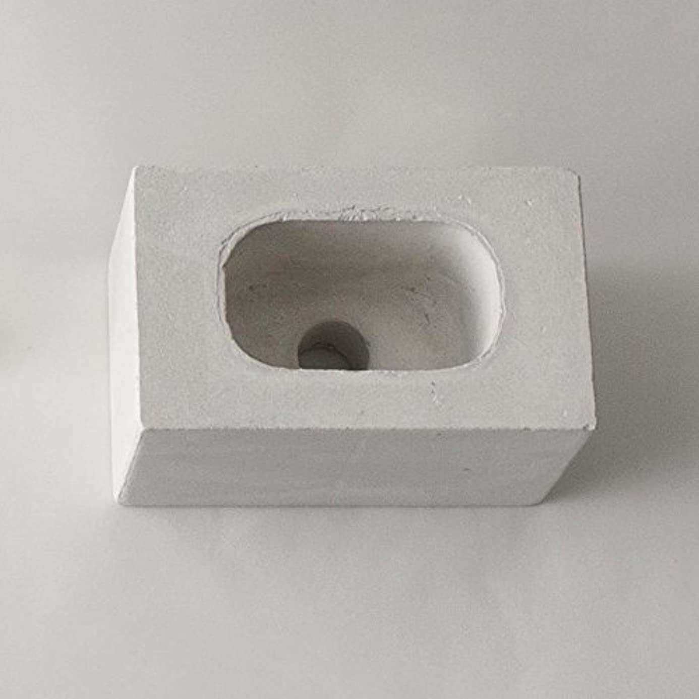 信頼できる移行する恥ずかしさar003wh/パーツ販売?b2c ブリック用 コンクリートパーツ(スクエア)《ホワイト》  芳香剤 ルームフレグランス リードディフューザー アロマ ディフューザー