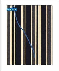 Beahouse フリーサイズブックカバー(ブラック) ほぼ全サイズ対応 (文庫、B6、四六、新書、A5、マンガ、ノート)