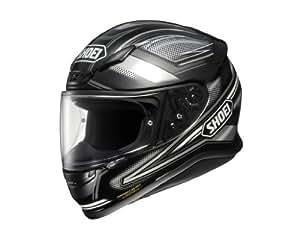 ショウエイ(SHOEI) バイクヘルメット フルフェイスZ-7 DOMINANCE TC-5(SILVER/BLACK) L ( 59-60cm ) 437176