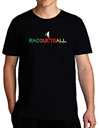 Eddany Dripping Racquetball Tシャツ