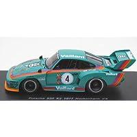 スパーク 1/43 Porsche 935 K2 1977 Hockenhim n4 完成品