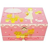 【Lily&Ally】 プレゼントにぴったり / サマーガーデンプリンセス オルゴール付き キッズジュエリーボックス My Summer Garden - Poppy / Musical Jewelry Box / Kids' Jewelry Box / 子供 ジュエリーボックス オルゴール 子供用 宝石箱