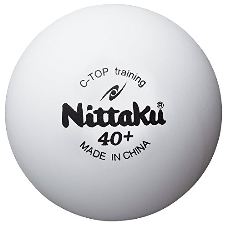 ニッタク(Nittaku) 卓球 ボール 練習用 Cトップトレ球