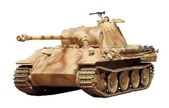 タミヤ 1/35 ミリタリーミニチュアシリーズ No.65 ドイツ陸軍 パンサー 中戦車 プラモデル 35065
