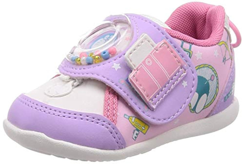 [ムーンスター] ベビーシューズ 靴 ドラえもん マジック 抗菌防臭 ゆったり DRM B02 DRM B02