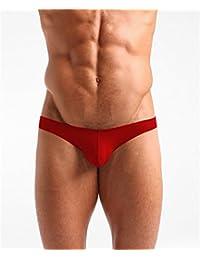comeondear メンズインナー 立体成型 ビキニブリーフ Gストリング 男性下着 ローライズ ナイロン 快適 着心地良い メンズインナー パンツ