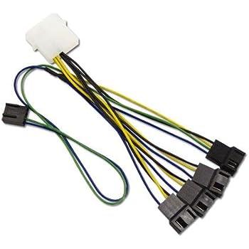 アイネックス ファンPWM信号4分岐ケーブル CA-864PS