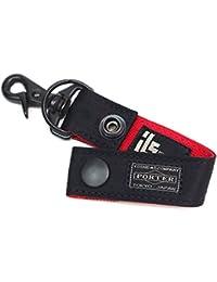 ポーターエルファイン(PORTER L-fine) PORTER×ILS共同企画 キーホルダー Key Holder ブラック(裏地:レッド) Black(Backing:Red)