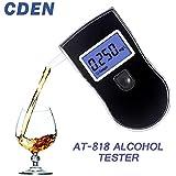 プロのアルコールテスター警察の液晶ディスプレイデジタル息クイックレスポンス飲酒運転酔って運転手アルコテスターAT818