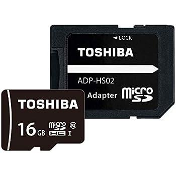 東芝 microSDHCカード 16GB Class10 UHS-I対応 (最大転送速度48MB/s) 国内正規品 Amazon.co.jpモデル THN-MW16G4R8