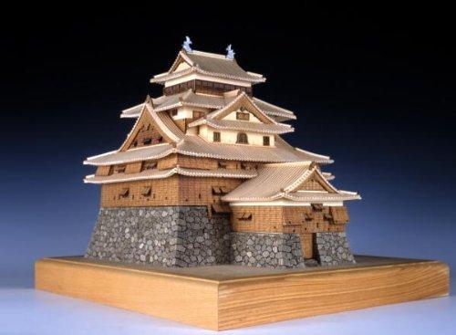 ウッディジョー 1/150 松江城 木製模型 組立キット