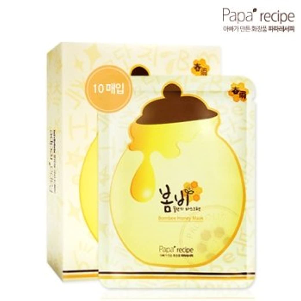 蛇行敬意歴史的パパレシピ(Paparecipe) 春雨蜜ツボマスクシート10枚(Paparecipe Bombee Honey Mask Sheet 10ea)[並行輸入品]