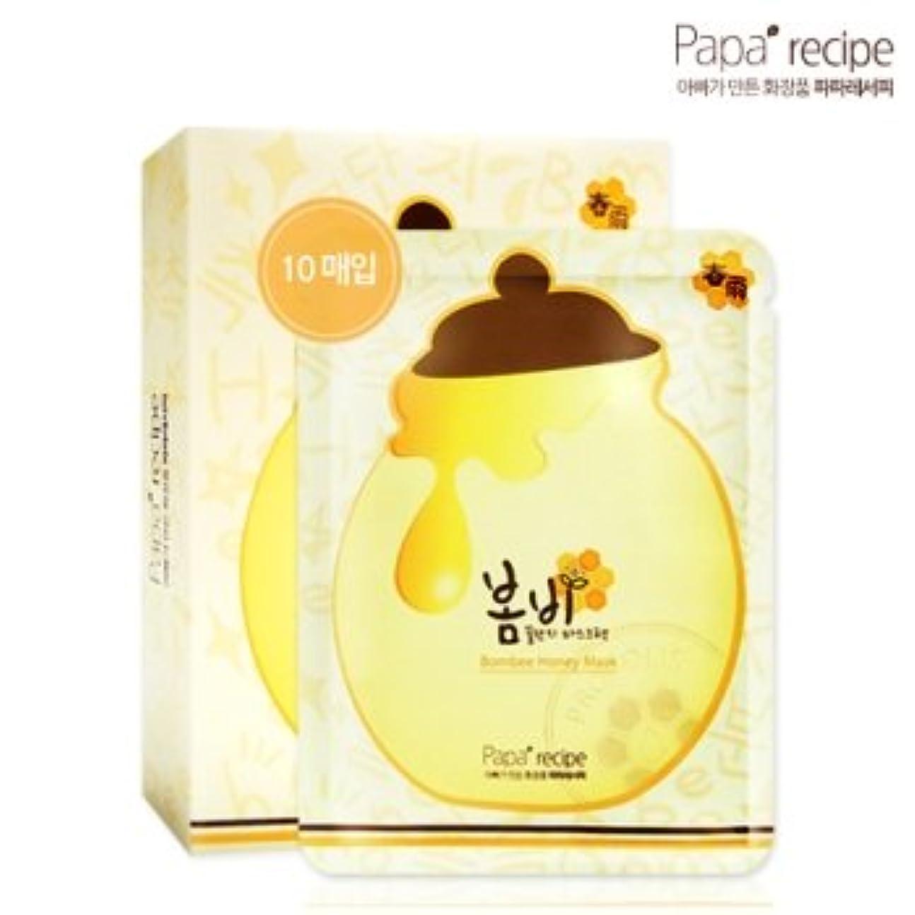 アジアアルプス作るパパレシピ(Paparecipe) 春雨蜜ツボマスクシート10枚(Paparecipe Bombee Honey Mask Sheet 10ea)[並行輸入品]