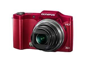 OLYMPUS デジタルカメラ SZ-11 レッド 1400万画素 光学20倍ズーム 広角25mm 3Dフォト機能 SZ-11 RED