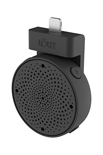 Lolly Digital 3D mic iPhoneに取り付けるだけで圧倒的な臨場感と音の広がりを実現する、 超小型ポータブルマイク (ブラック)