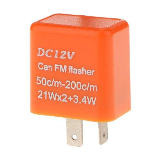 [해외]노 명품 12V 2 핀 전자 오토바이 성 노출증 릴레이 하이픈 러쉬 방지 방향 지시 라이트 릴레이/No Brand Item 12V 2-pin Electronic Bike Flasher Relay Hyflash Prevention Direction Indicator Light Relay