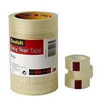 SCOTCH EASY TEAR CLR TAPE 24MMX33M