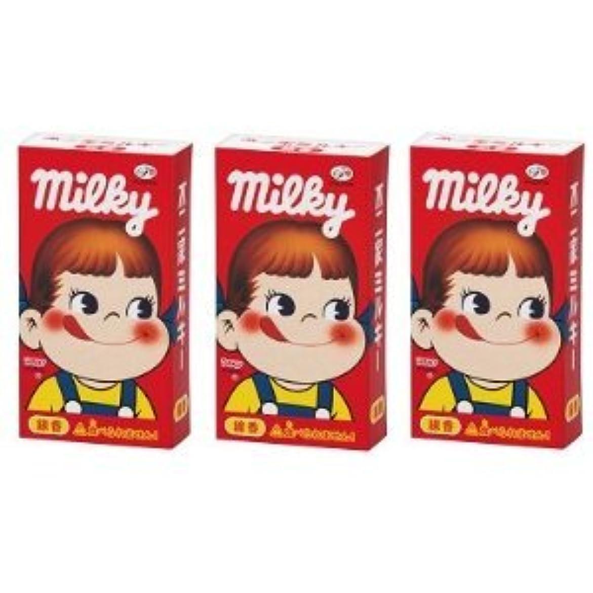 チーム過言未来不二家 ミルキーの香りのミニ寸線香 3箱セット