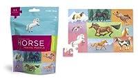 Horses Travel Puzzle by Crocodile Creek [Toy] [並行輸入品]