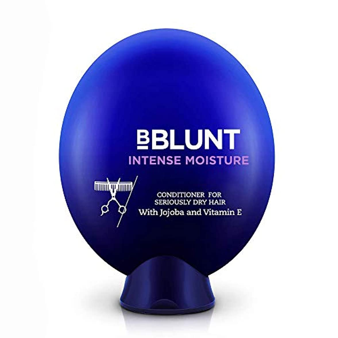 生命体表面別れるBblunt Intense Moisture Conditioner, 200g (Jojoba, Vitamin E, Hydrolyzed Keratin & Wheat Germ Oil)