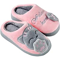 Unicorn Girls Shoes Family Cute Household Anti-Slip Warm Winter Indoor Home Slippers