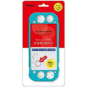 Nintendo Switch Lite 用 シリコンカバー ターコイズ Z2663