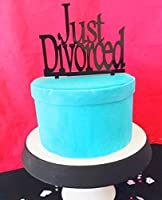 [USA-SALES] Just Divorced Cake Topper Divorce Party Decorations by USA-SALES Seller [並行輸入品]