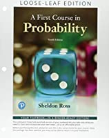 First Course in Probability, A Books a la Carte Edition (10th Edition)