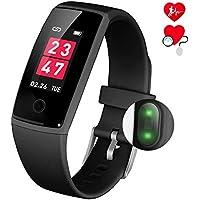 スマートウォッチ 心拍計 スマートブレスレット 血圧計 活動量計 腕時計 リストバンド 防水line通知 数計 人気 睡眠検測 アラーム iphone android 日本語対応 最新版