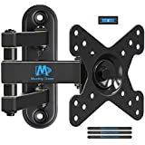 TV Wall Bracket Monitor Wall Mount for Most 10-26 Inch LED, LCD, OLED Flat Screen TVs and Monitors with VESA 50X50mm - 100X100mm up to 15kg, MD2463, by Mounting Dream