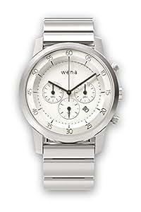 WN-WC01W ホワイト wena wrist Chronograph(ウェアラブル端末)