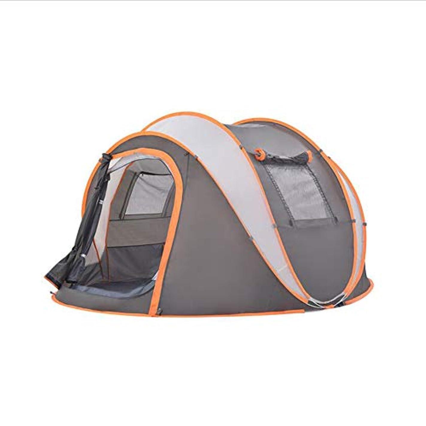 部分的良心考古学3-4人の自動テント、屋外の二重防風および防雨性の蚊家族のキャンプ用品