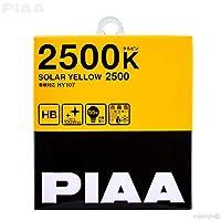 PIAA 22-13495ソーラーイエロー9005(HB3)/ 9006(HB4)電球(2500K~12V 55W)