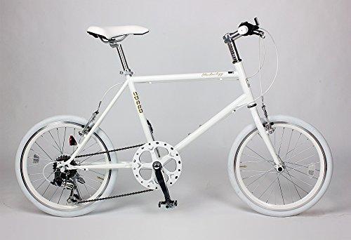 21Technology ミニベロ 20インチ クロスバイク CL20 シマノ6段変速 (ホワイト)