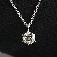 ダイヤモンドネックレス 一粒 プラチナ ダイヤモンド 0.3ct GIA鑑定書付ダイヤモンド 0.30ct Dカラー IFクラス 3EXカット GIA
