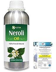 Neroli (Citrus Aurantium) 100% Natural Pure Essential Oil 1000ml/33.8fl.oz.