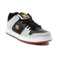 [DC(ディーシー)] 靴・シューズ メンズスケートシューズ Mens DC Manteca Skate Shoe グレー/ブラック/オレンジ US 10.5 (28.5cm)