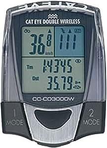 キャットアイ(CAT EYE) サイクルコンピュータ ダブルワイヤレス CC-CD300DW