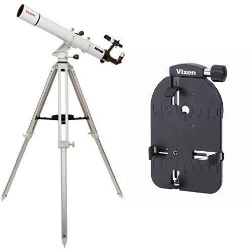 Vixen 天体望遠鏡 ポルタIIA80Mf + 撮影用スマートフォンカメラアダプターセット